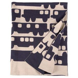 Orla Kiely Reversible Baby Blanket Target in Blue